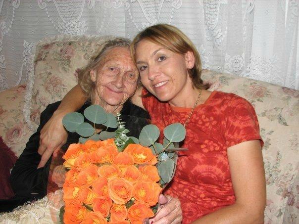 Freda and Mom